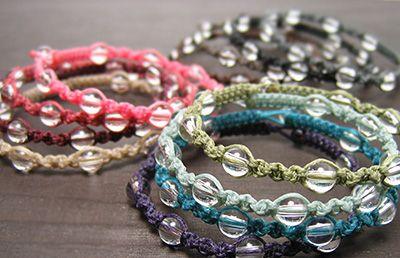 編み紐の色
