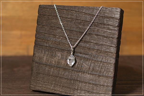 ハーキマーダイヤモンドsilver925ペンダントトップ