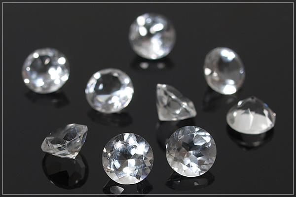 水晶K14GFベゼルネックレス